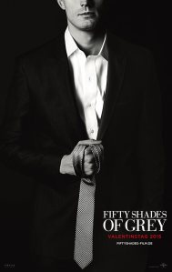 Filmplakat für Fifty Shades of Grey mit Christian Grey