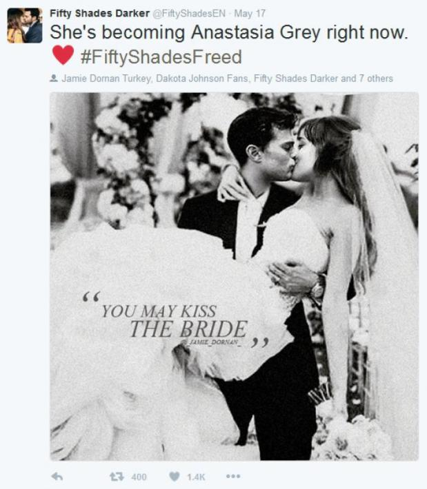 Dreharbeiten: Mr & Mrs Grey  Fifty Shades of Grey